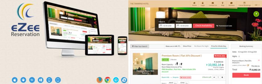 eZee Online Hotel Booking Engine