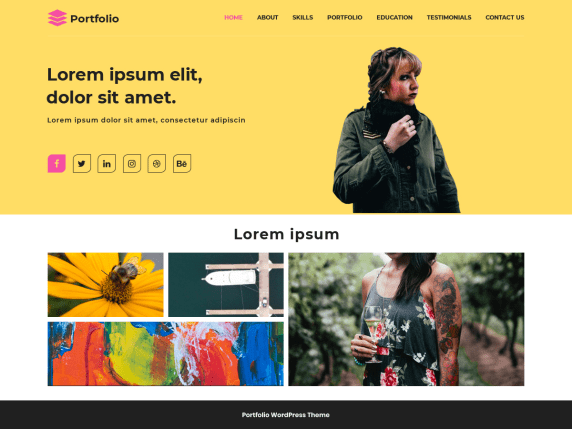 Top 30 Stunning WordPress Portfolio Theme In 2021