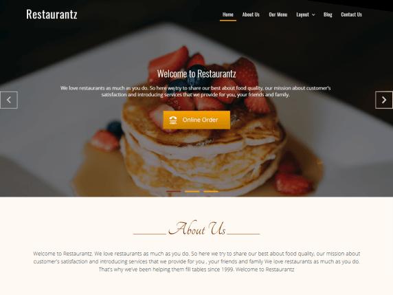 https://wordpress.org/themes/restaurantz/