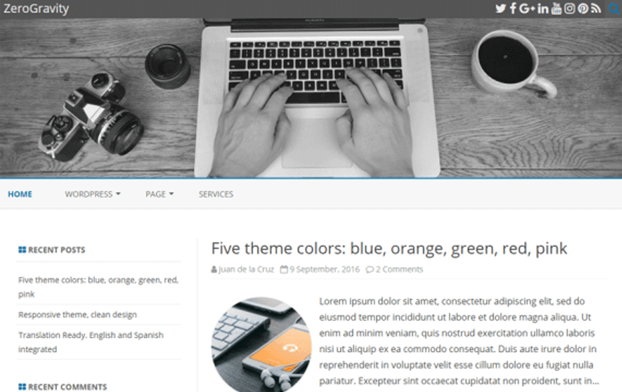 Collection#1 The Best News WordPress Themes in 2020