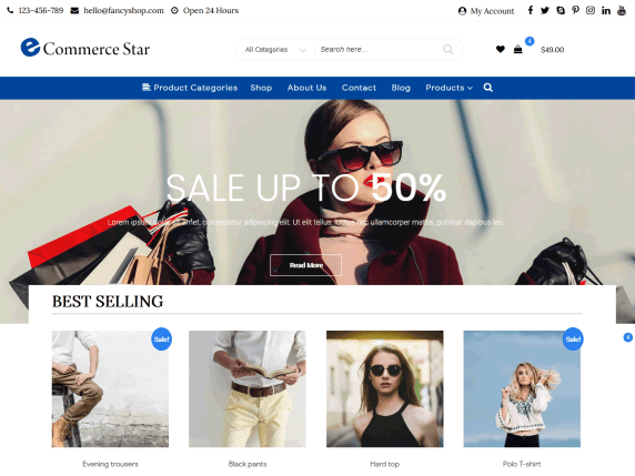 Top 20 WordPress eCommerce Theme In 2021