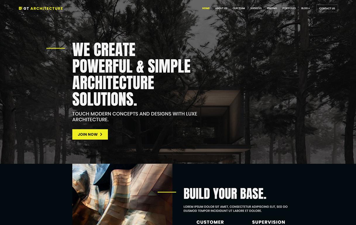 gt-architecture-wordpress-theme