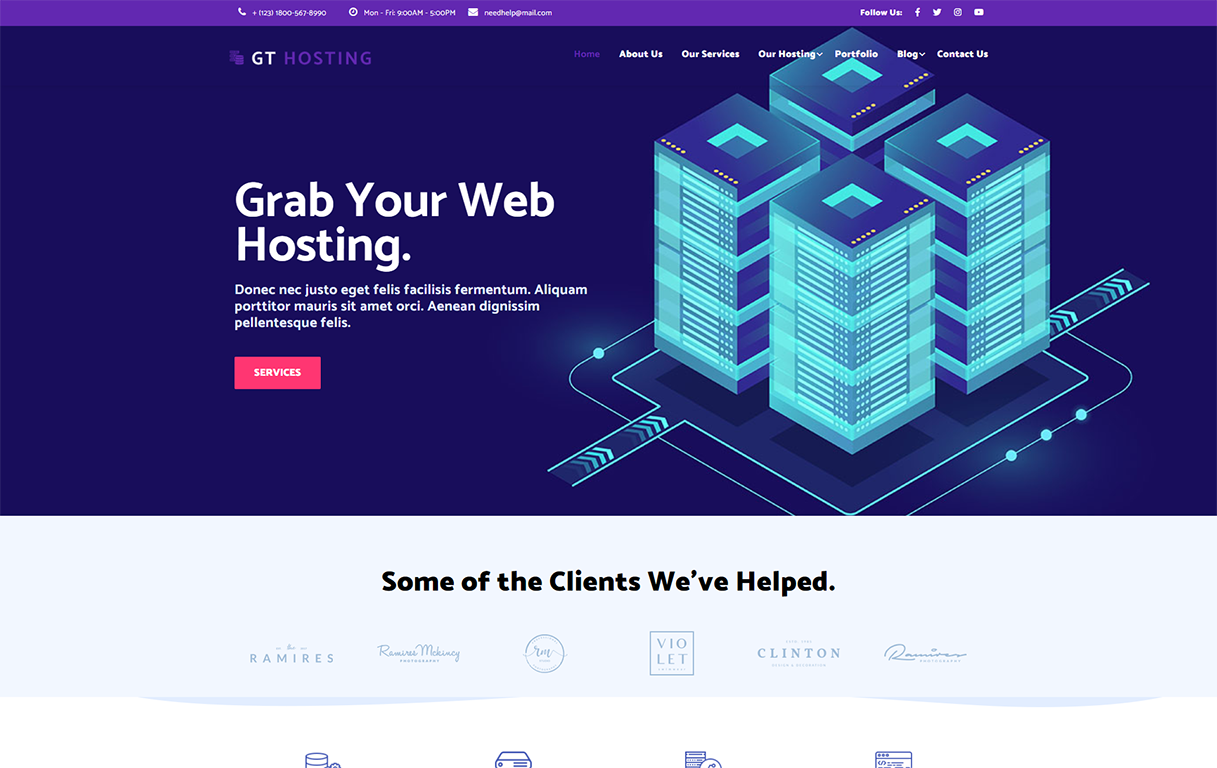 gt-hosting-wordpress-theme