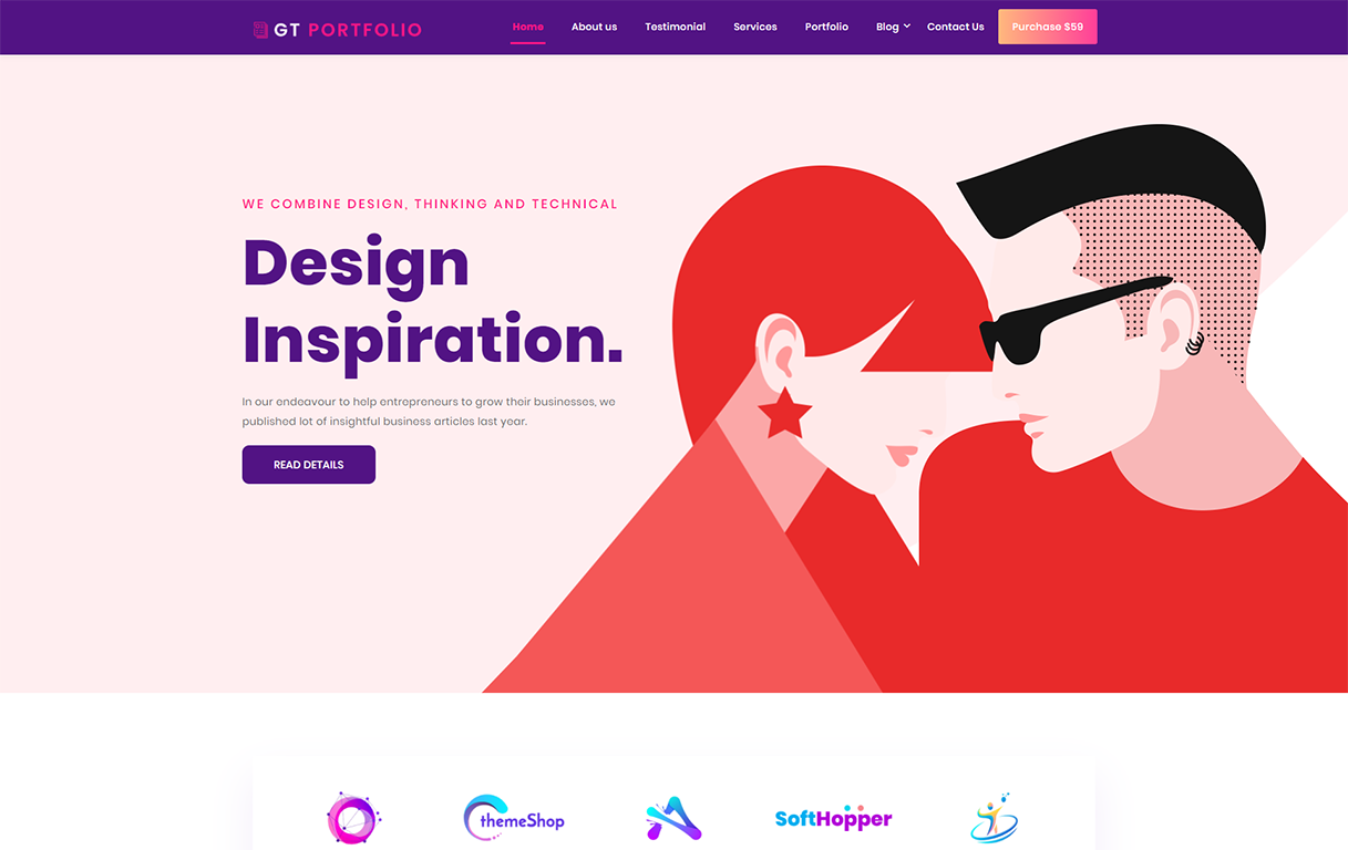gt-portfolio-elementor-wordpress-theme
