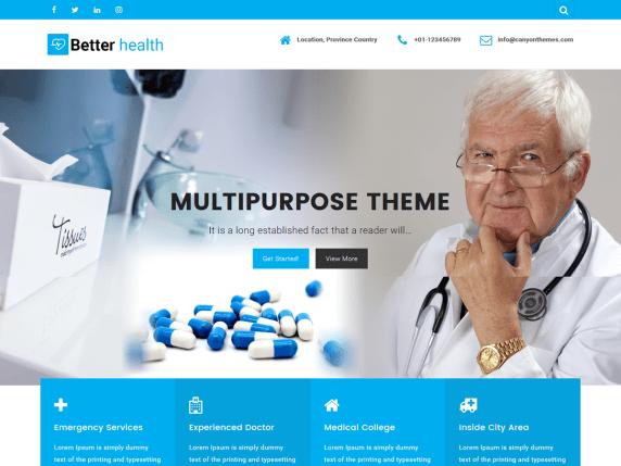 Top 21 Great WordPress Health Theme In 2020