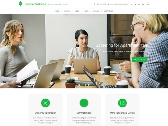 Top 30 Great WordPress Business Theme In 2021