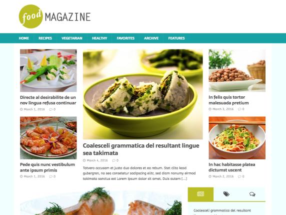 Top 20 Stunning WordPress Food Theme In 2020