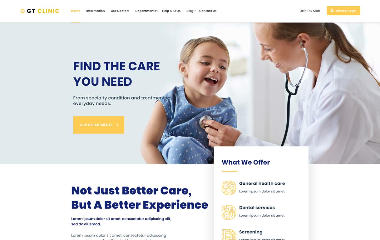 gt-clinic-free-wordpress-theme