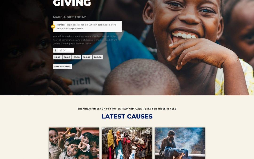 Top 20 Stunning WordPress Charity Theme In 2021