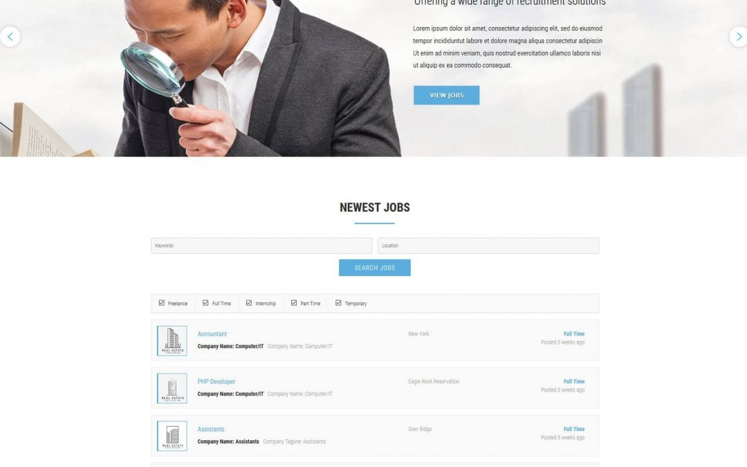 Top 20 Amazing WordPress Job Board Theme