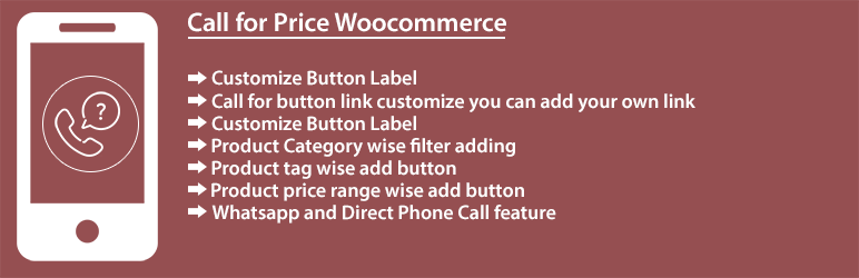Call for Price Woocommerce