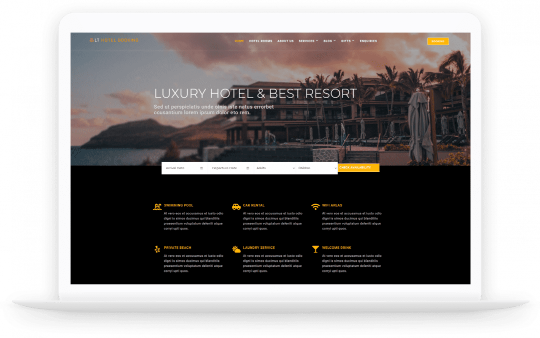 Top 25 Stunning WordPress Hotel Booking Theme In 2021