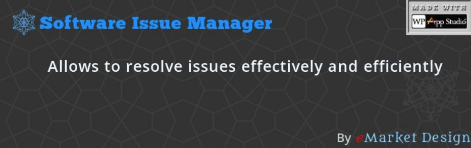Software Issue Manager