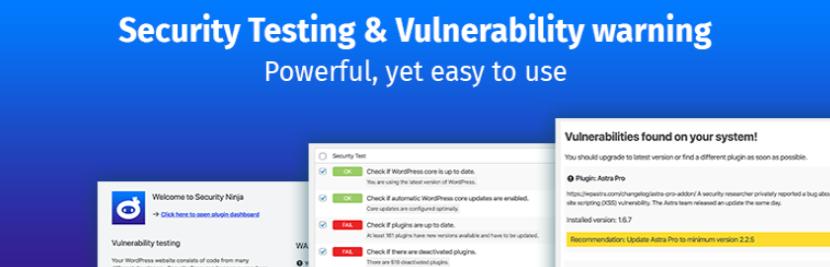 Security Ninja – Secure Firewall & Secure Malware Scanner