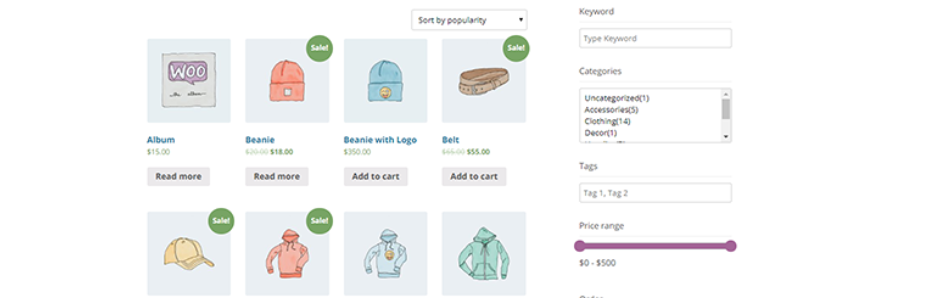 PickPlugins Product Filter for WooCommerce