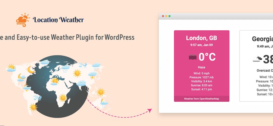 Top 7 WordPress Weather Plugin In 2021