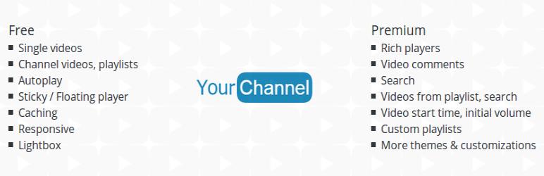 Youtube Plugin for WordPress