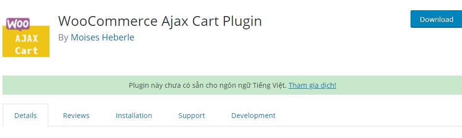 WooCommerce Ajax Cart Plugin