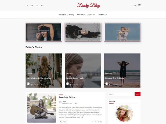 dashy blog